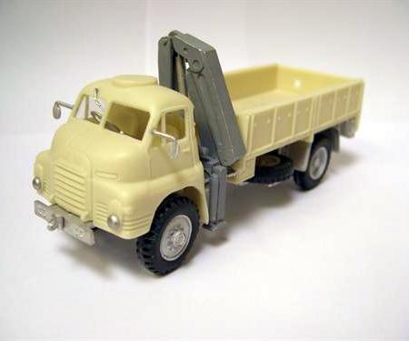 Bedford Mk2 RL 4X4 Dropside Lorry with Atlas Crane