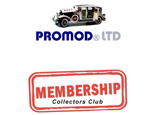Collectors Club Membership
