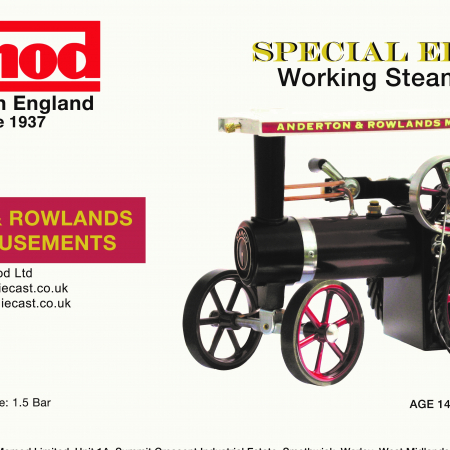 Mamod Exclusive Working Steam Engines