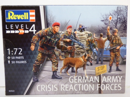 Revell Kits German Army Crisis Reaction Forces, 50 Figures